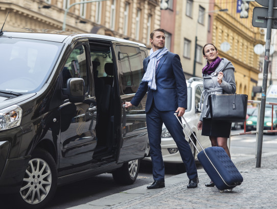 Free transfer from Prague airport