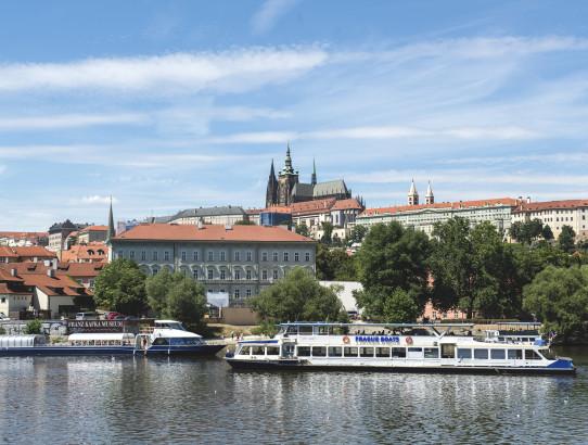 Boat trips in Prague