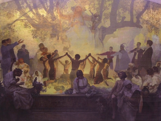 The Slav Epic by Alfons Mucha