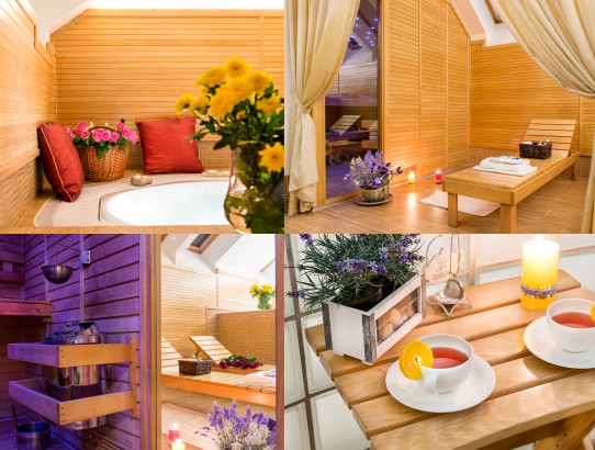Wellness at Boutique hotel Seven Days