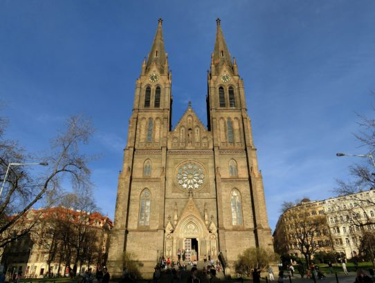 Our neighbourhood - namesti Miru (Peace square) in Prague
