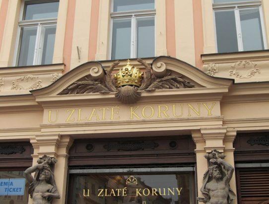 Prague house symbols